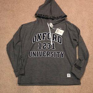 """NWT VS Pink """"Oxford 1231 University"""" Hoodie"""